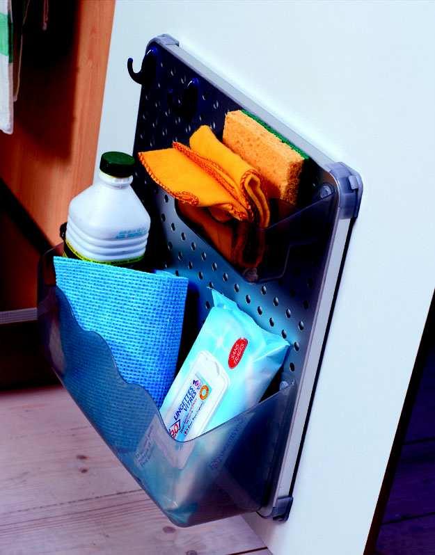 Rangement contre porte pour sous vier concept cuisine 09 - Rangement sous evier cuisine ...